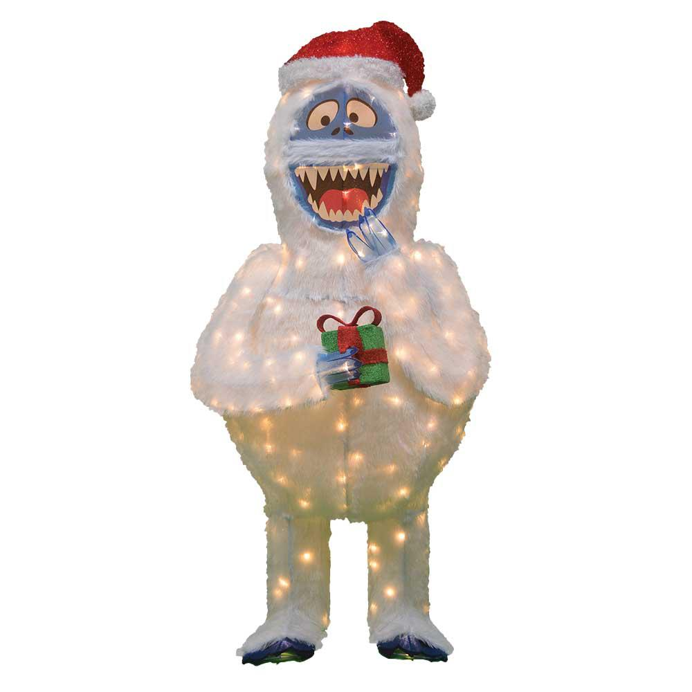 rudolph 3d led bumble - Rudolph And Friends Christmas Decorations