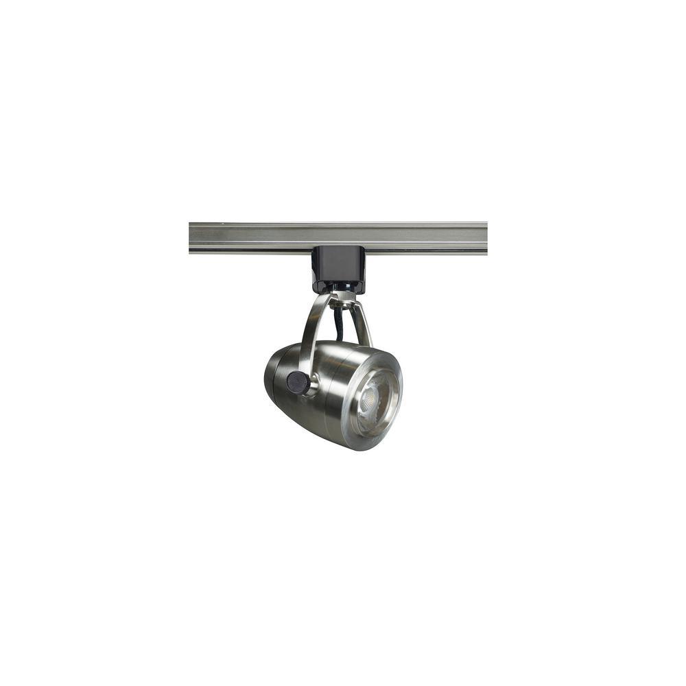 Led Track Lighting Brushed Nickel: Filament Design Brushed Nickel Integrated LED Track