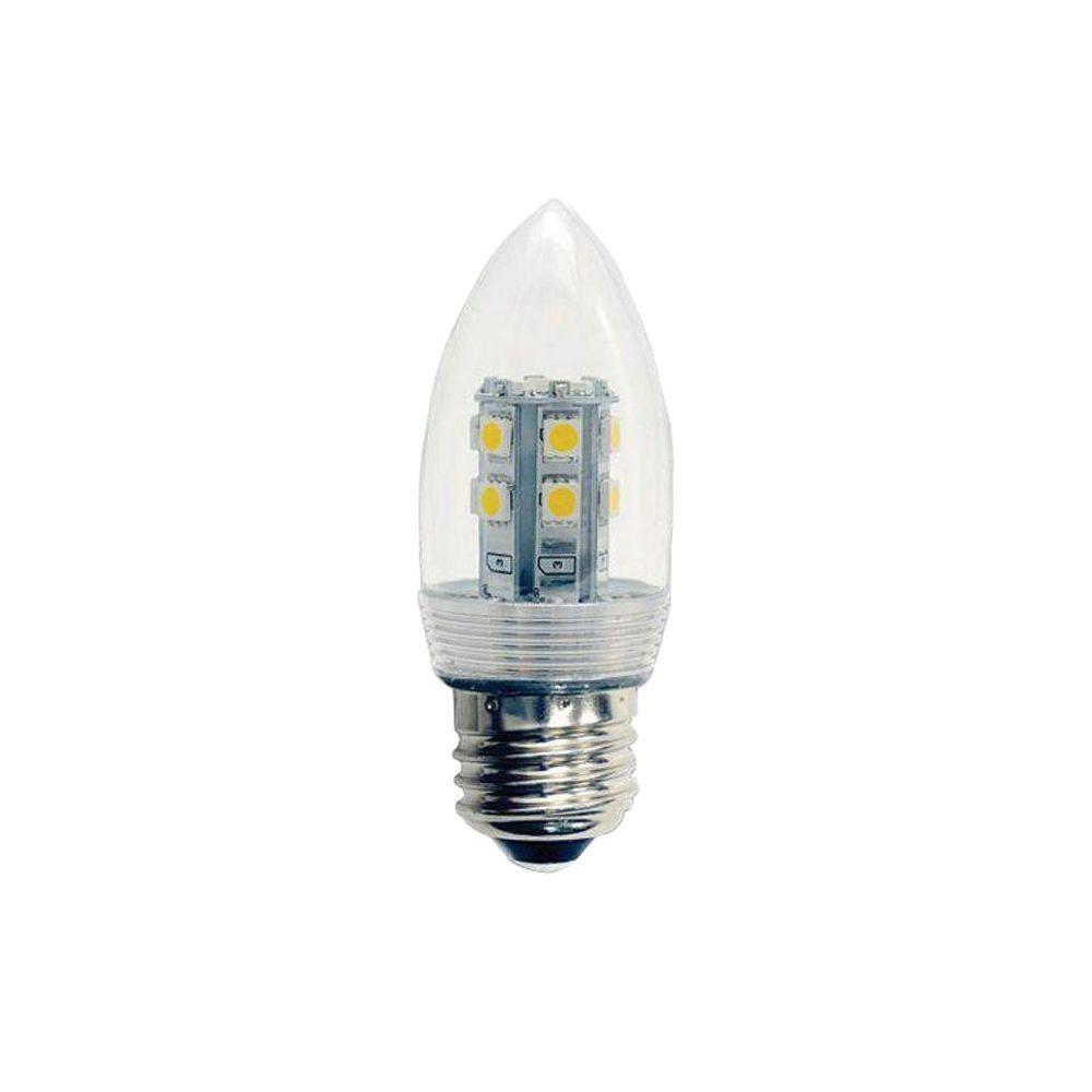2.5-Watt (2.5W)/120-Volt LED Light Bulb (2-Pack)