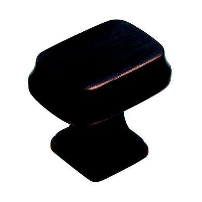 Revitalize 1-1/4 in. Oil Rubbed Bronze Rectangle Cabinet Knob
