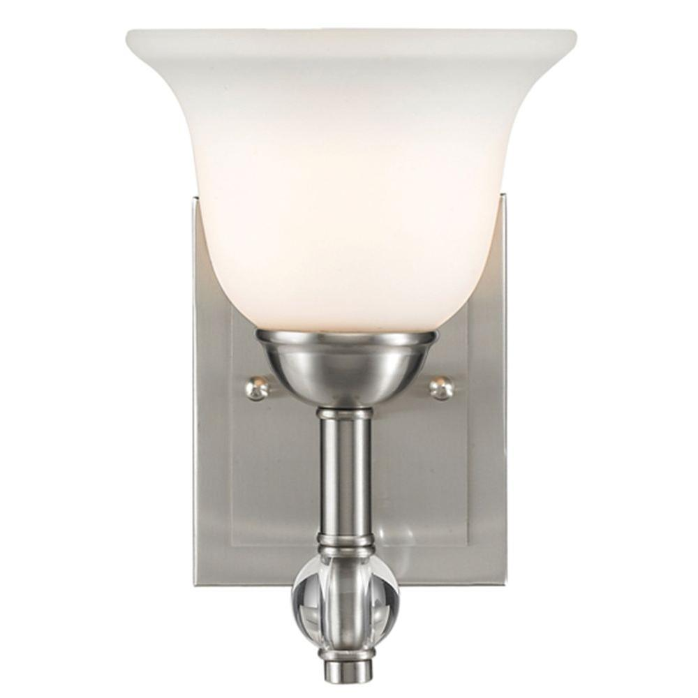 null Kiley Collection 1-Light Pewter Bath Vanity Light