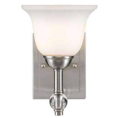 Kiley Collection 1-Light Pewter Bath Vanity Light