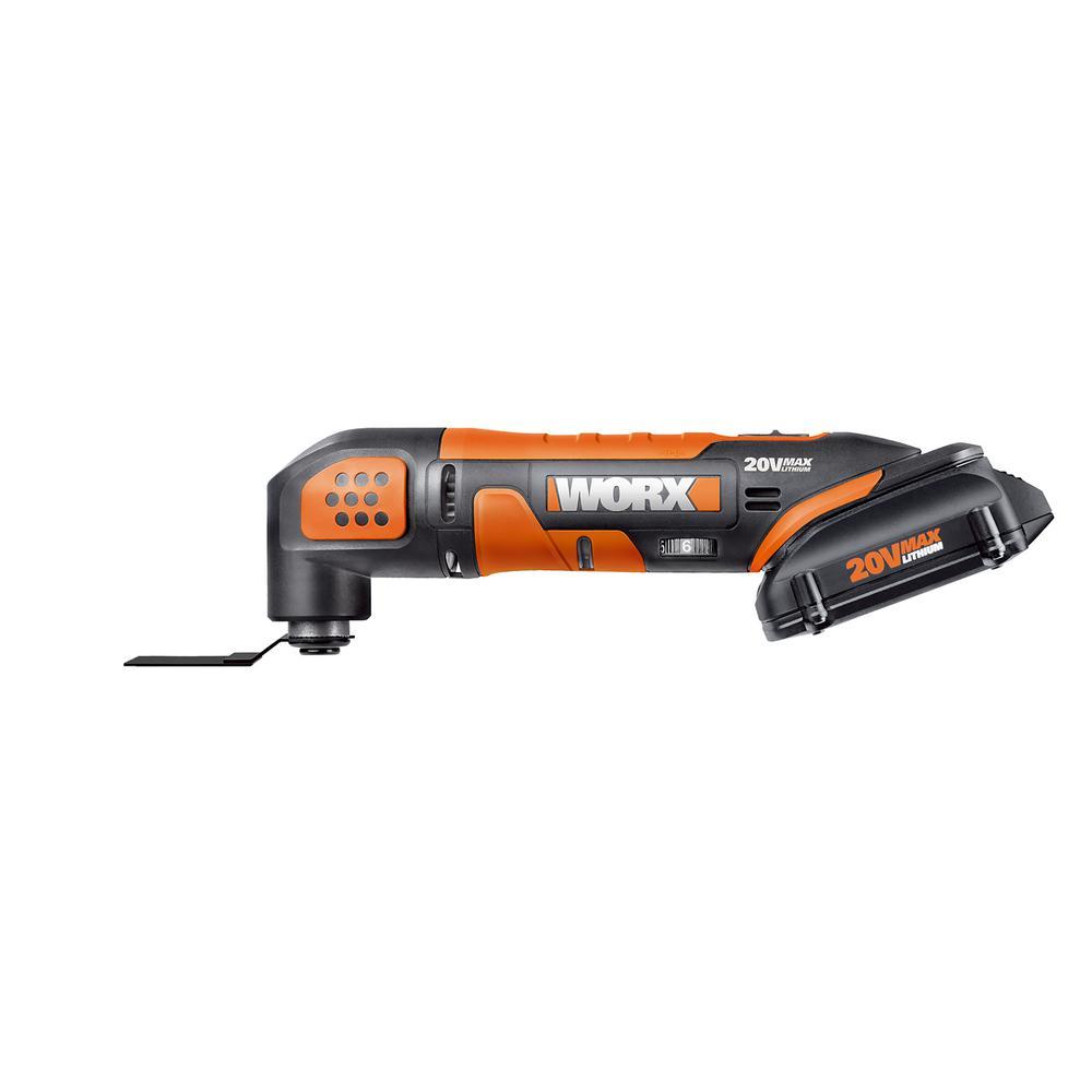 POWER SHARE 20-Volt Oscillating Tool
