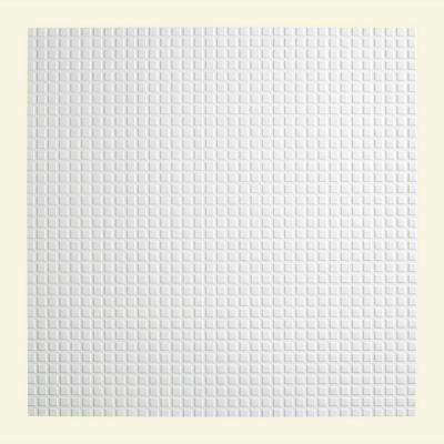Square - 2 ft. x 2 ft. Lay-in Ceiling Tile in Gloss White