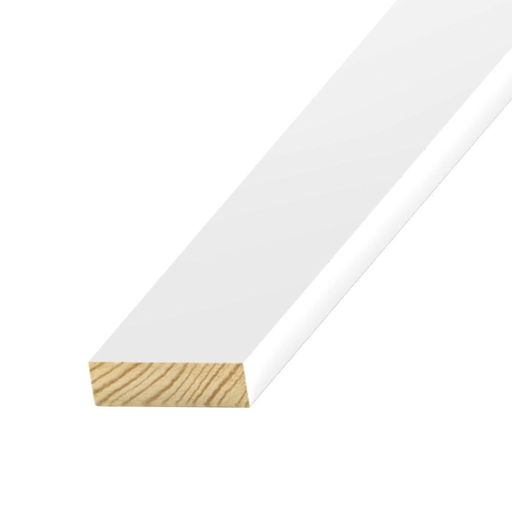 1 in. x 4 in. x 8 ft. S1S2E Primed-Treated Board