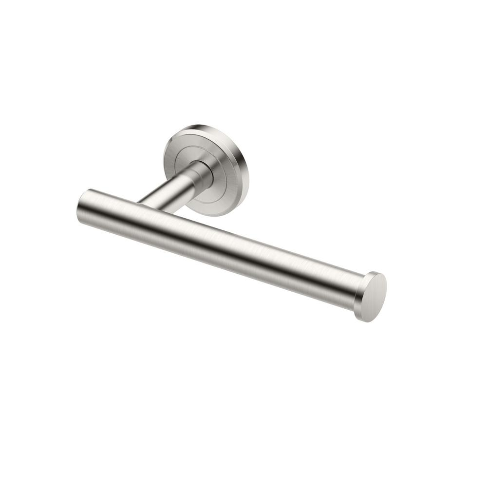 Gatco Latitude Ii Single Post Toilet Paper Holder In Satin Nickel