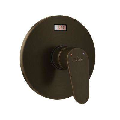 Tru-Temp LED Pressure Balance in. Rough-In Valve with Oil-Rubbed Bronze Trim Kit