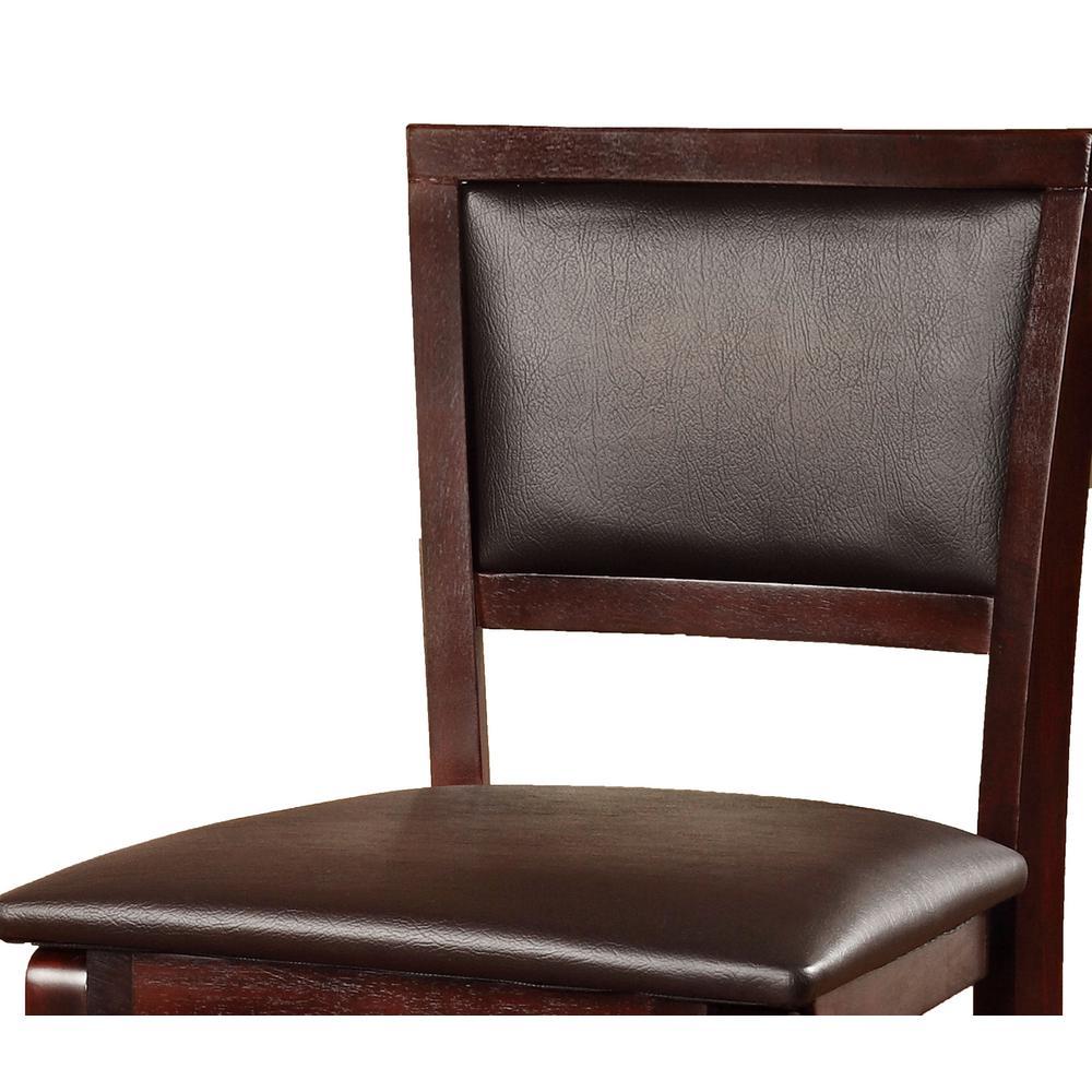 Awesome Linon Home Decor Keira Espresso Folding Stool 01832Esp 01 As Theyellowbook Wood Chair Design Ideas Theyellowbookinfo
