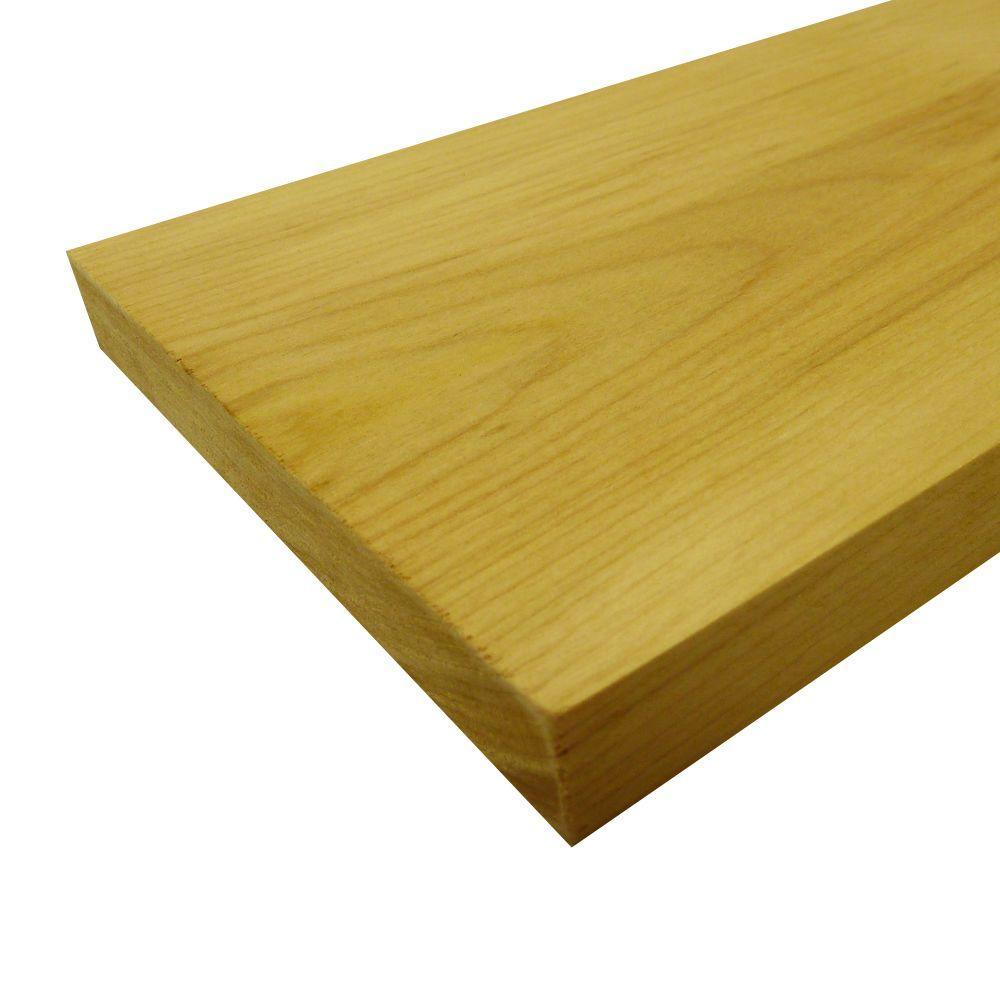 Birch Board (Common: 1 in. x 4 in. x R/L; Actual: