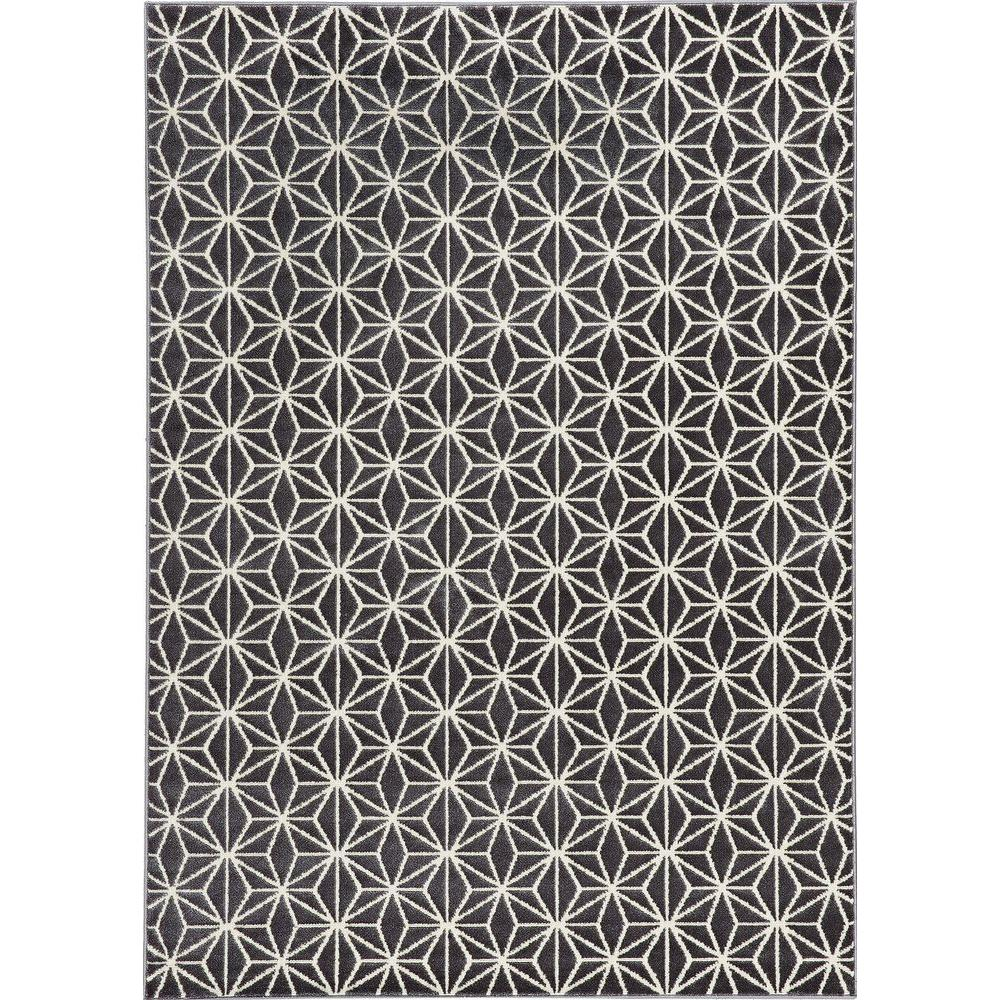 Balta US Abbott Grey 5 ft. 3 in. x 7 ft. 4 in. Area Rug