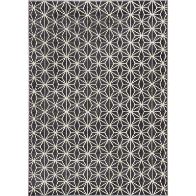 Abbott Grey 5 ft. x 7 ft. Area Rug