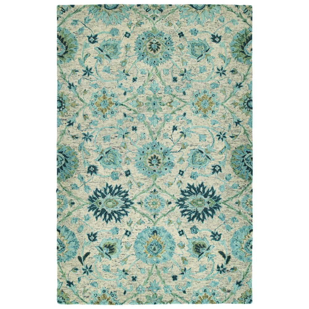 Kaleen Helena Turquoise Area Rug Reviews: Kaleen Chancellor Turquoise 10 Ft. X 14 Ft. Area Rug-CHA03