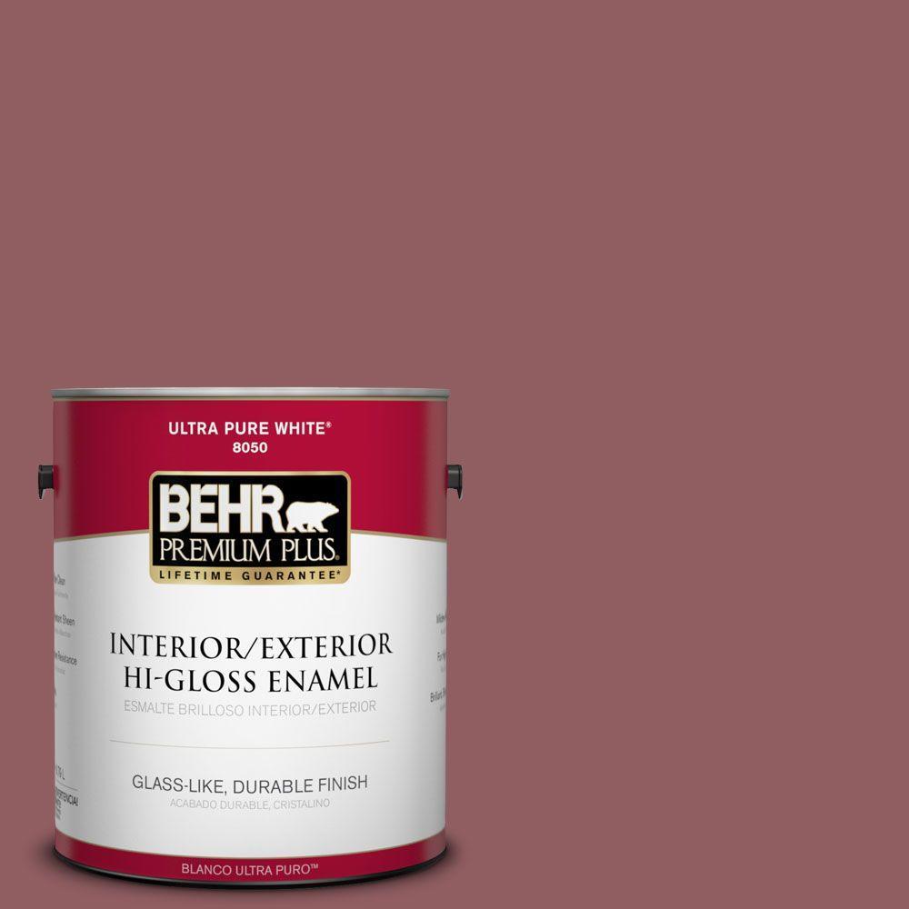 1-gal. #S130-6 Spiced Potpourri Hi-Gloss Enamel Interior/Exterior Paint