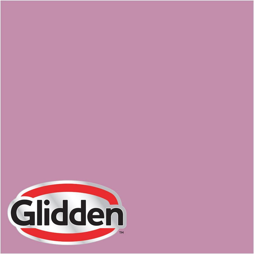 Glidden Premium 8 oz. #HDGR06D Pink Mauve Satin Interior Paint ...
