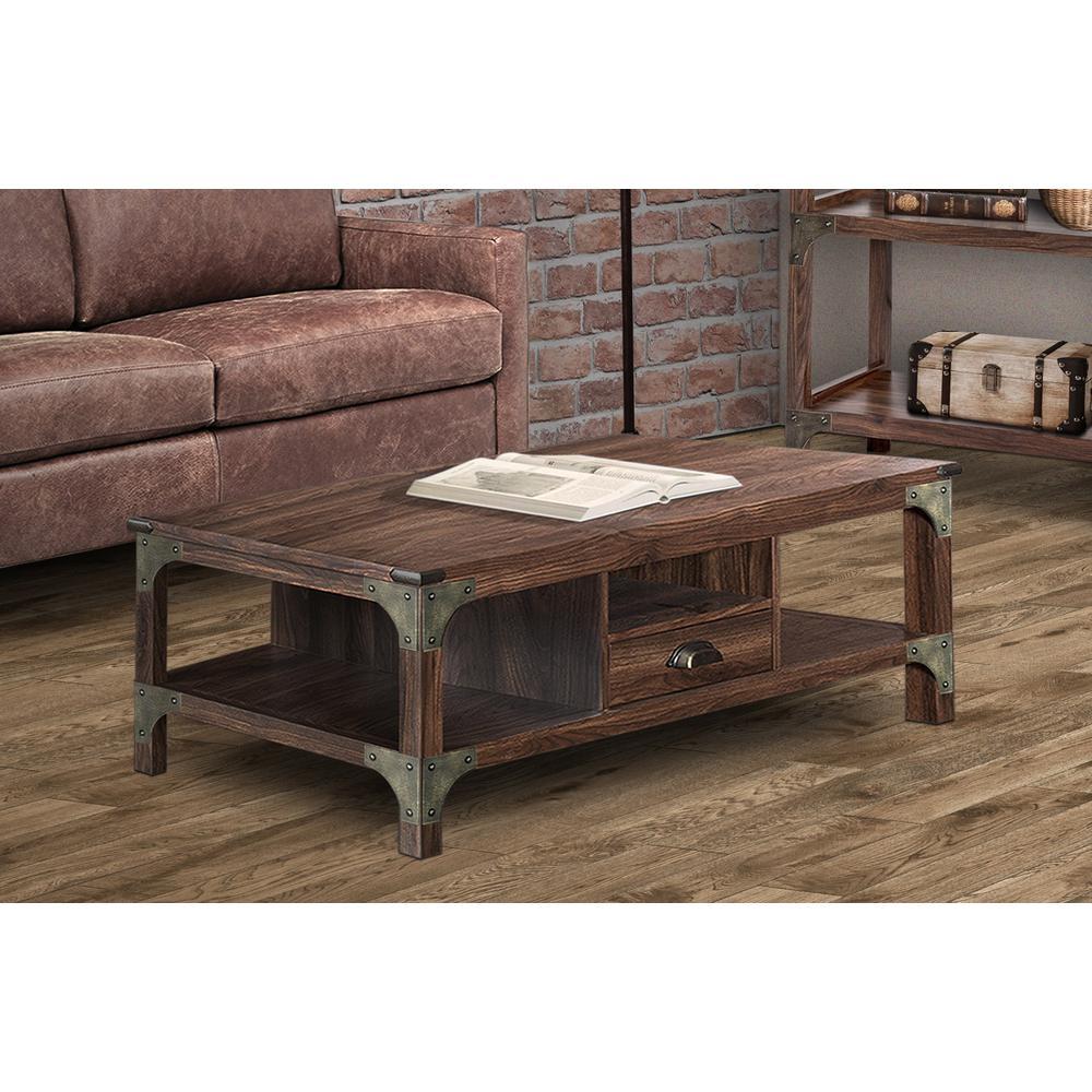 Logan Walnut Coffee Table Lg8005ctwn