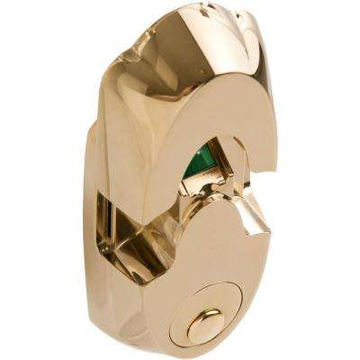 NextBolt Polished Brass Secure Mount Deadbolts