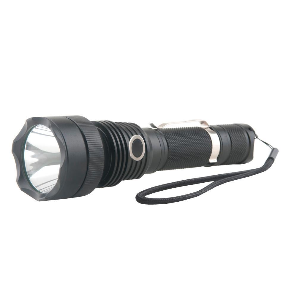 Guard Dog Security 550-Lumen Waterproof Tactical Flashlight