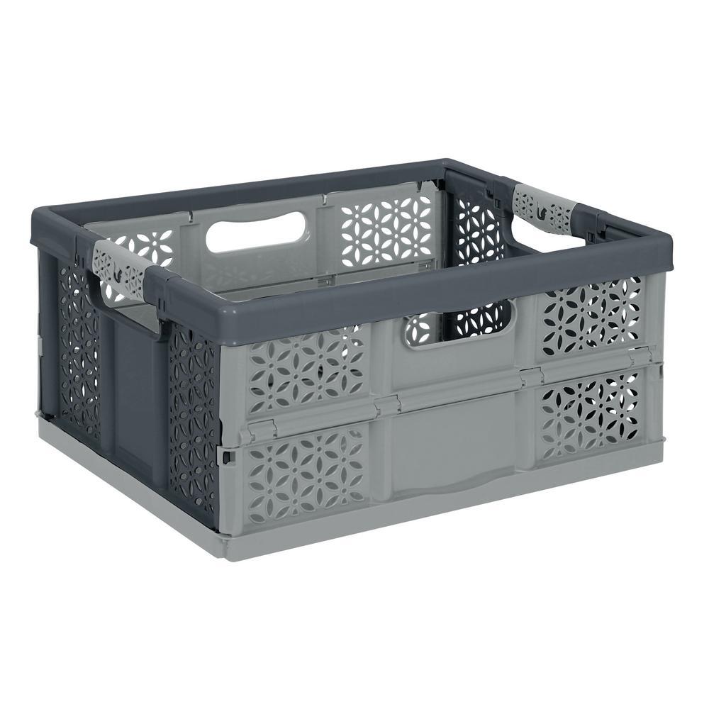 32L Folding Box-Silver