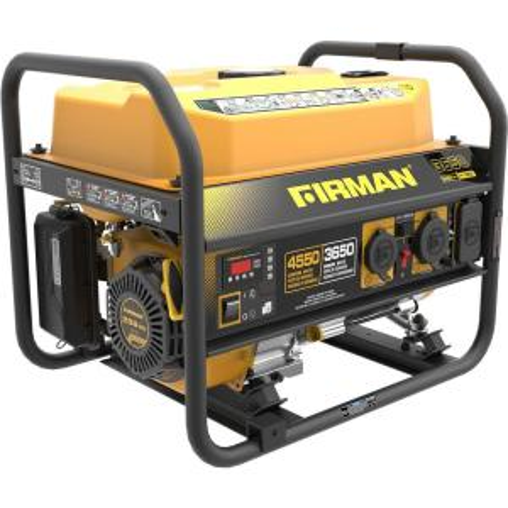 Firman 4550/3650-Watt 120/240V Recoil Start Gas Portable Generator cETL  Certified