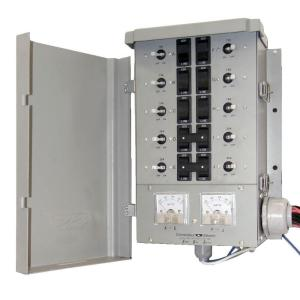 Connecticut Electric 30-Amp 8-Space 10-Circuits G2 Manual Transfer Switch Kit by Connecticut Electric