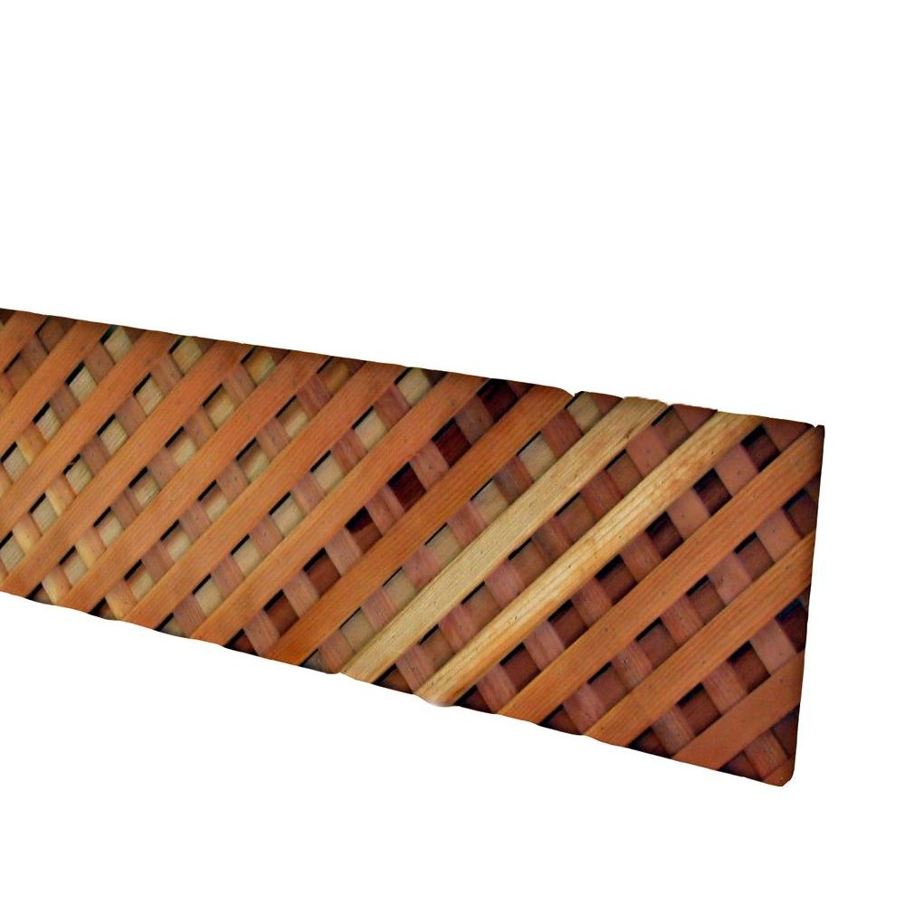 0.63 in. x 12 in. x 8 ft. Redwood Select Common