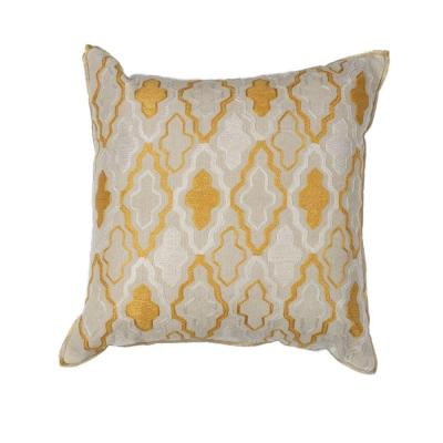 Kas Rugs Carlisle Ivory/Yellow Decorative Pillow