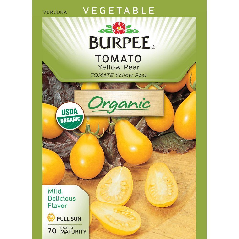Burpee Organic Tomato Yellow Pear Seed