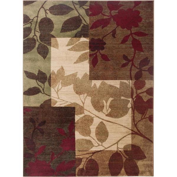 Tribeca Multi 9 ft. x 12 ft. Indoor Area Rug