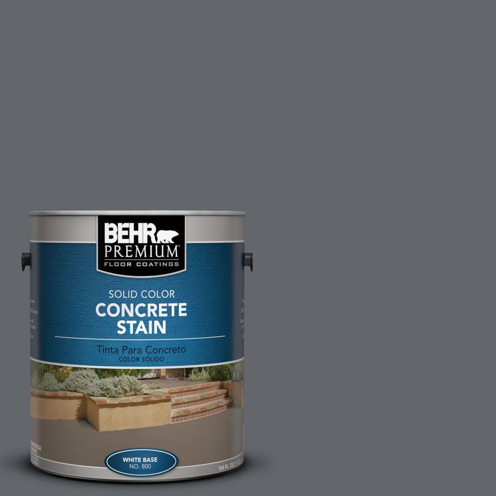 BEHR Premium 1 gal. #PFC-65 Flat Top Solid Color Concrete Stain