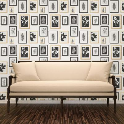 56.4 sq. ft. Rumer White Gallery Wall Wallpaper
