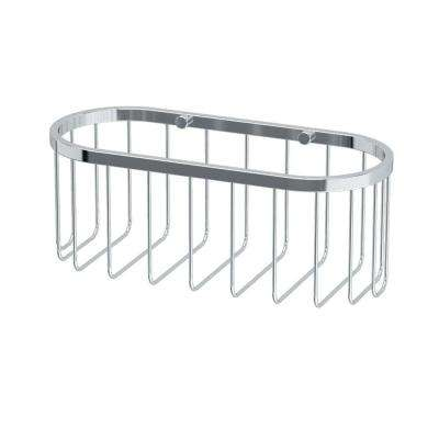 4 in. x 10.5 in. x 4.5 in. Day Spa Caddy - Small in Chrome