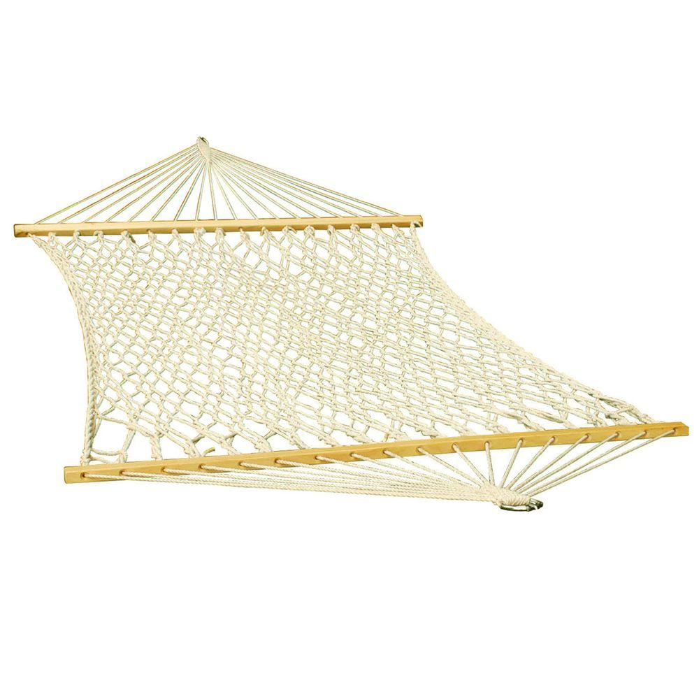 algoma 11 ft  cotton rope hammock 4901c   the home depot  rh   homedepot