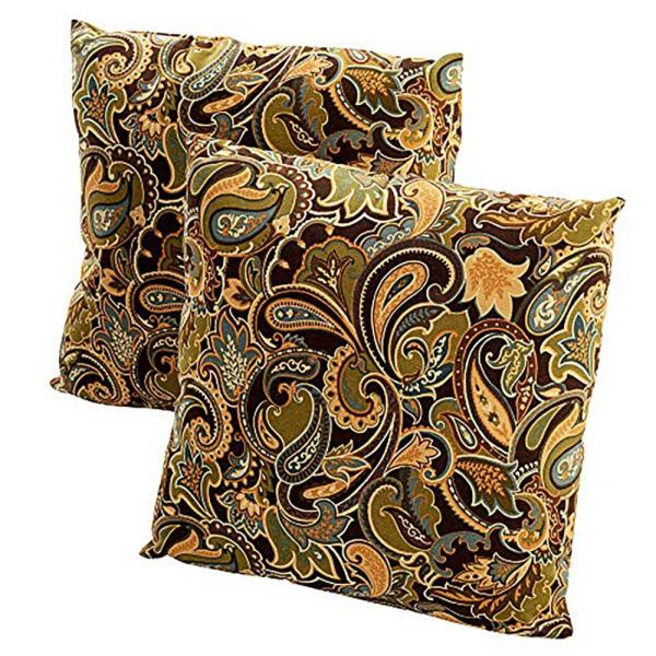 Green Bean Outdoor Throw Pillow (2-Pack)