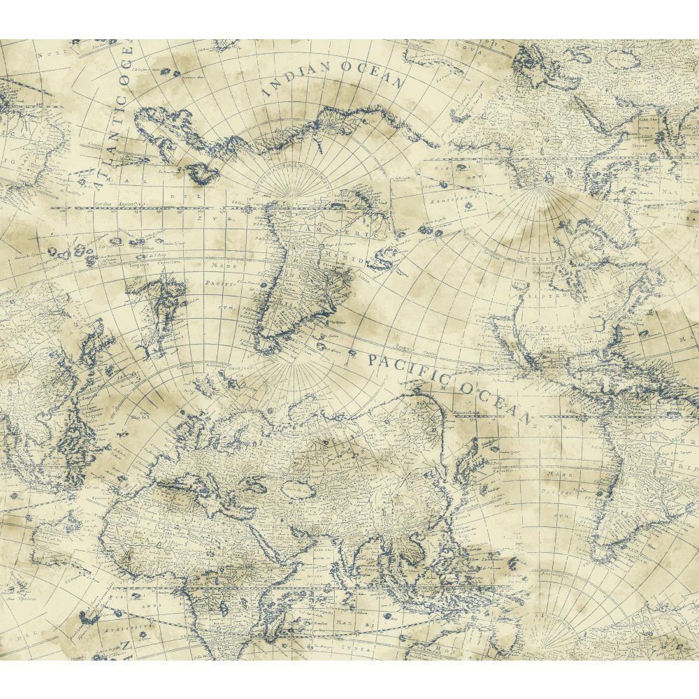 York wallcoverings nautical living coastal map wallpaper ny4837 york wallcoverings nautical living coastal map wallpaper gumiabroncs Gallery