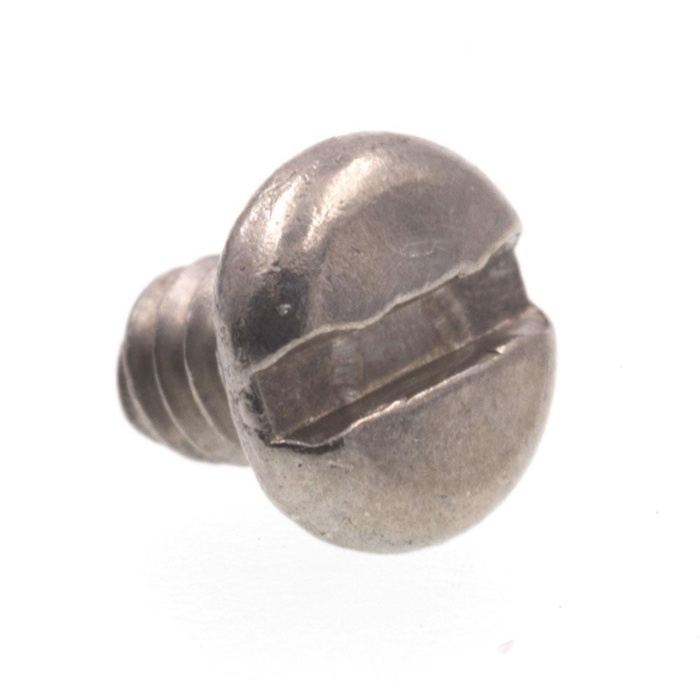 #3-48 x 1/8 in. Grade 18-8 Stainless Steel Slotted Drive Pan Head Machine Screws (25-Pack)
