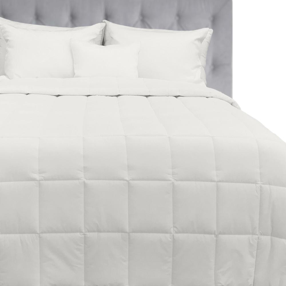 Extra Warmth White Queen Down Alternative Comforter