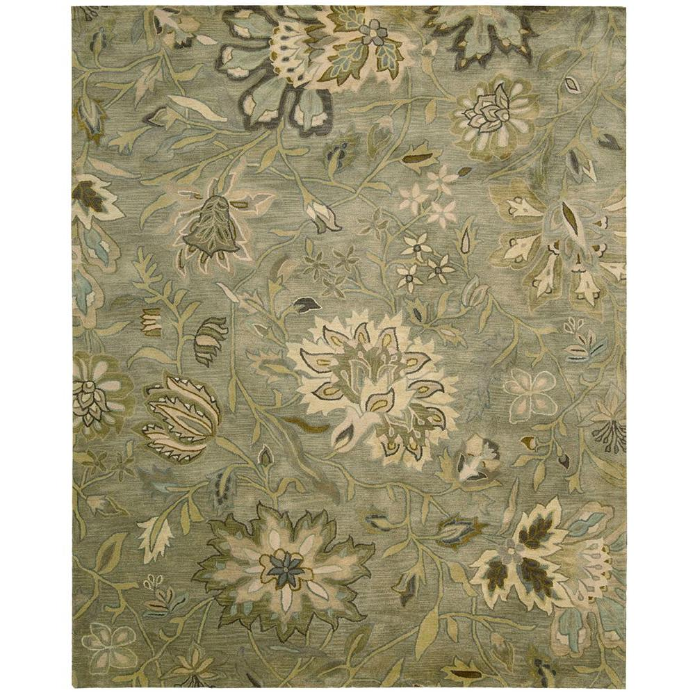 Jaipur Silver 3 ft. 9 in. x 5 ft. 9 in. Area Rug