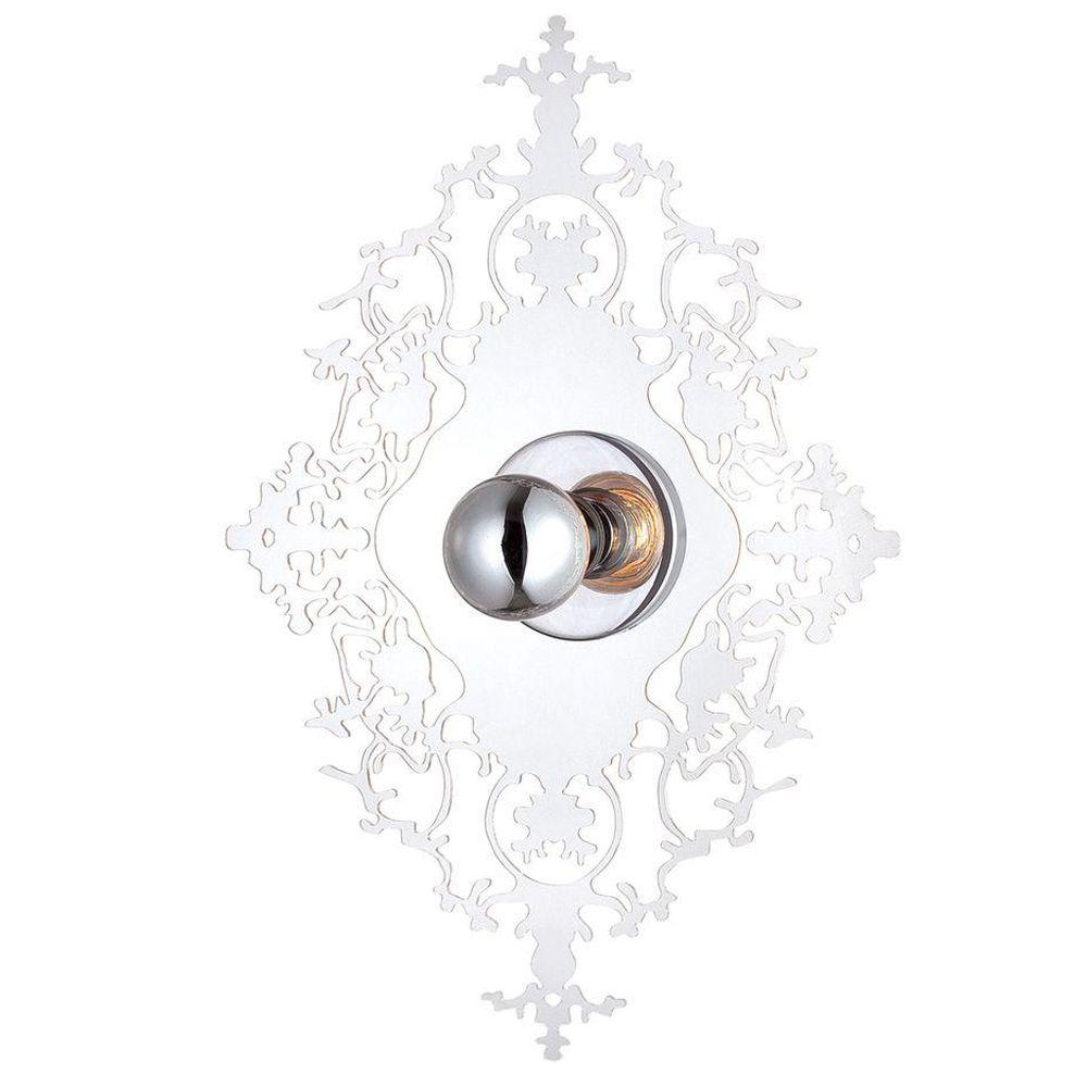 Eurofase Royal Collection 1-Light Clear Wall Sconce