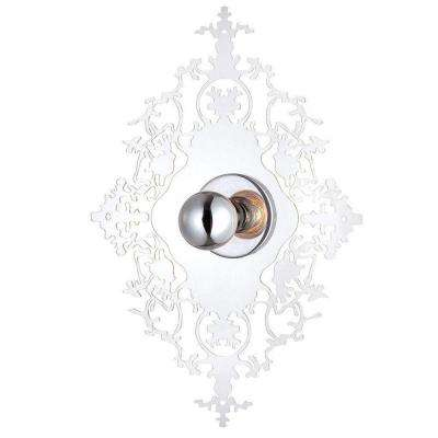 Royal Collection 1-Light Clear Wall Sconce