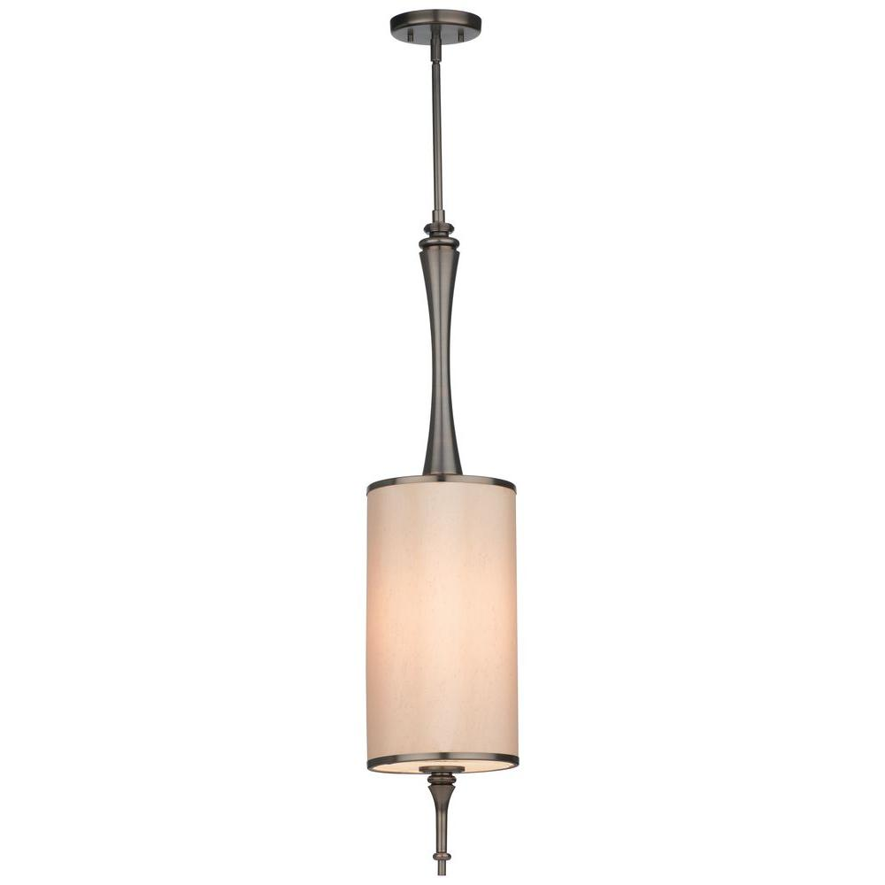 Thomas Lighting Gramercy Park 1-Light Hanging Oiled Bronze Pendant-DISCONTINUED