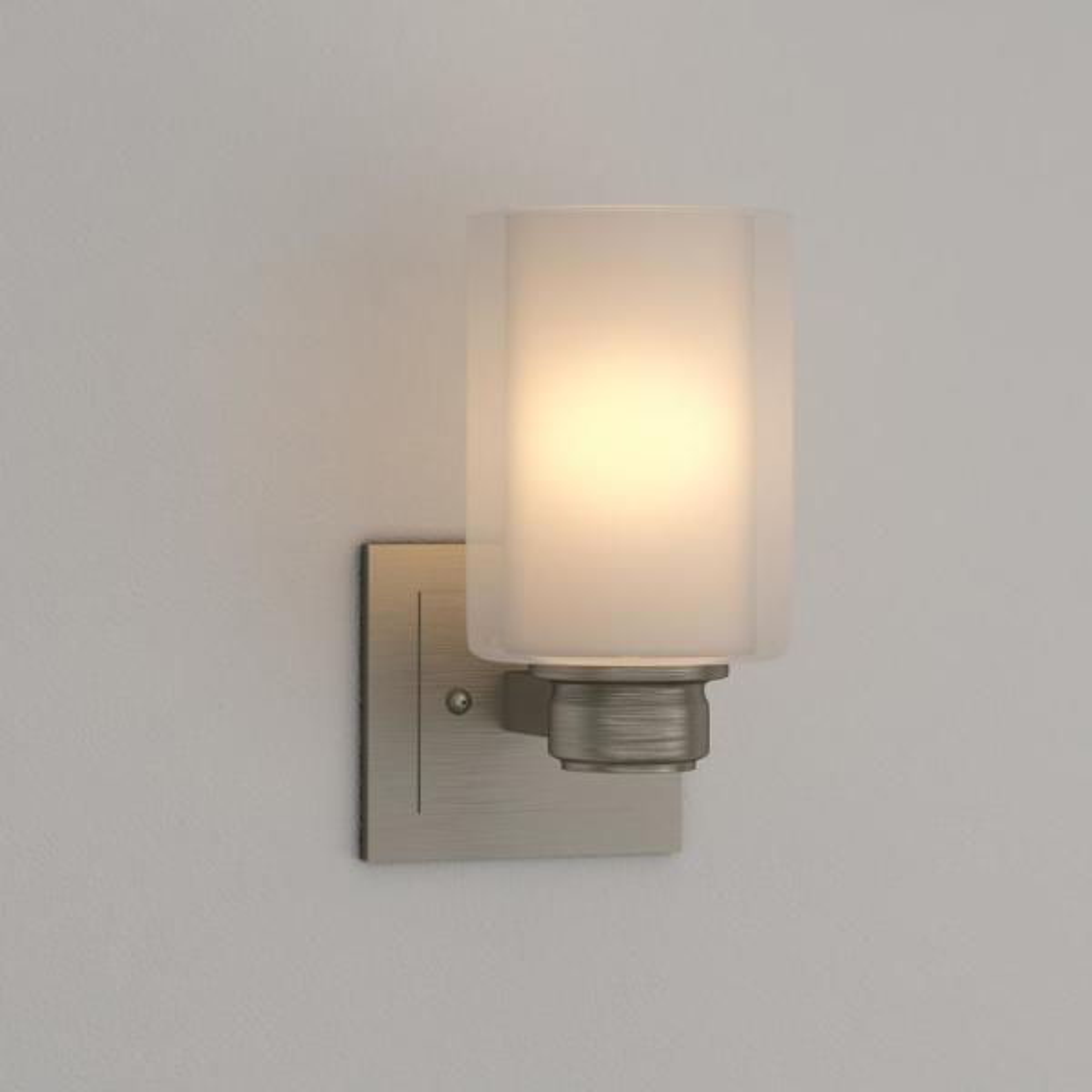Design House Oslo 1-Light Satin Nickel Indoor Wall Mount