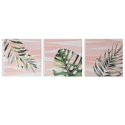 "16 in. x 16 in. ""Luscious Leaves"" Printed Wall Art"