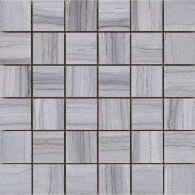 Chronicle Record 11.69 in. x 11.69 in. x 10mm Porcelain Mesh-Mounted Mosaic Tile