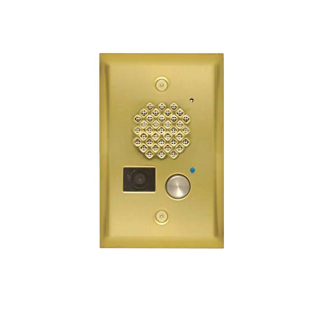 Viking Video Entry Phone - Brass-DISCONTINUED