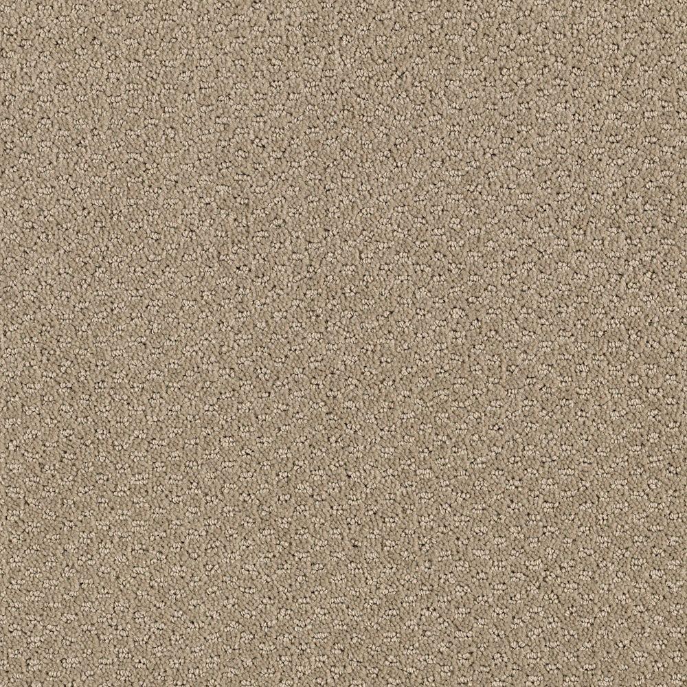Katama II - Color Taupe Treasure Pattern 12 ft. Carpet
