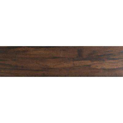 Botanica Teak 6 in. x 36 in. Glazed Porcelain Floor and Wall Tile (12 sq. ft. / case)