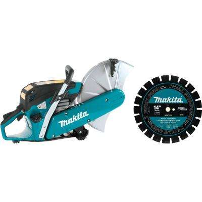 14 in. 61cc Gas Saw with Diamond Blade