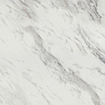 2 in. x 3 in. Laminate Countertop Sample in Calcutta Marble with Premium Textured Gloss Finish
