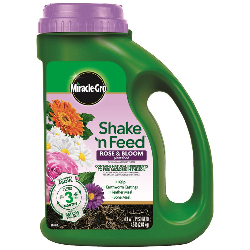 4.5 lbs. Shake n Feed Rose and Bloom Plant Food