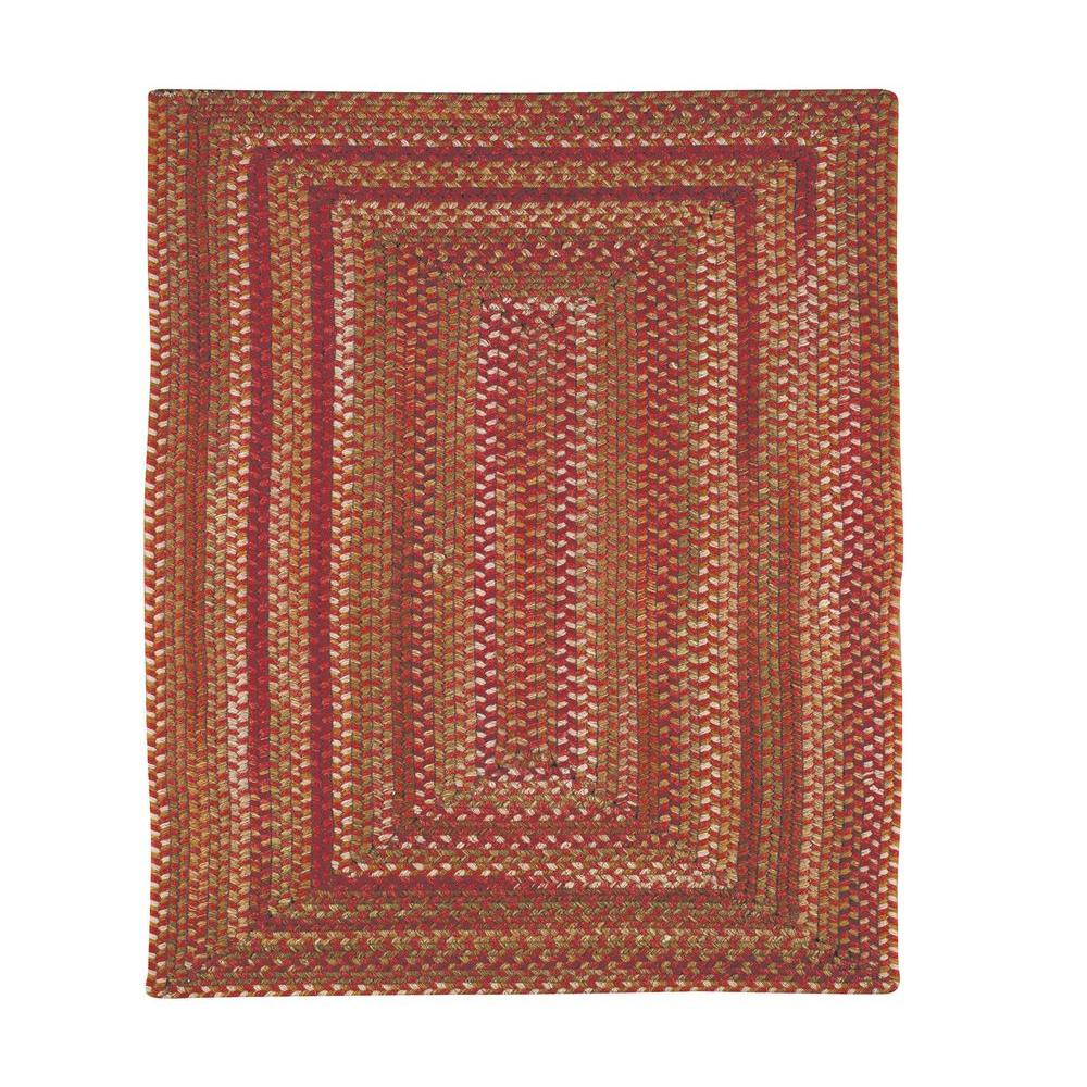 Capel Applause Concentric Rosewood 7 ft. 6 in. Square Area Rug